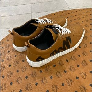 MCM Cognac Low Top Sneakers limited edition s45